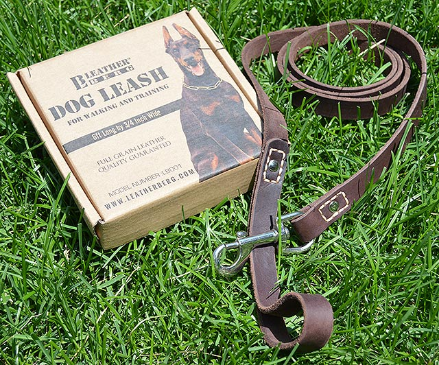 Product Review Leatherberg Leather Dog Leash