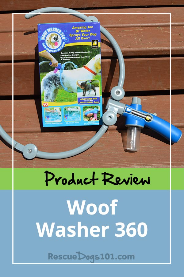 Woof Washer 360 Product Review – Unfortunately, the Woof Washer 360 doesn't live up to its expectations. Click through to see in the video and read my review. #dogbath #doggies #doglovers #dog #dogcare #doghealthtips #doghealth #doghealthwellness #dogstuff #cuteanimals #puppy #puppylove #rescuedogs101