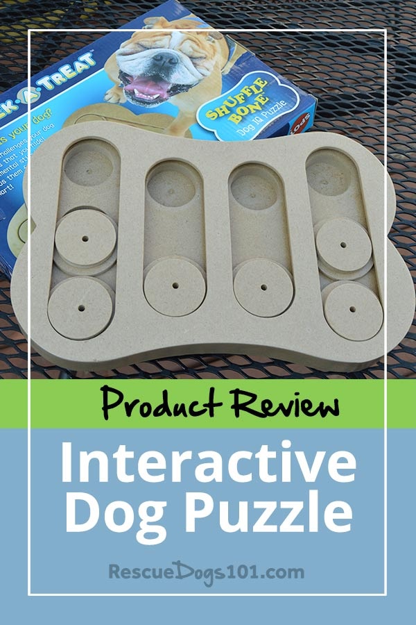 Product Review Dog Puzzle