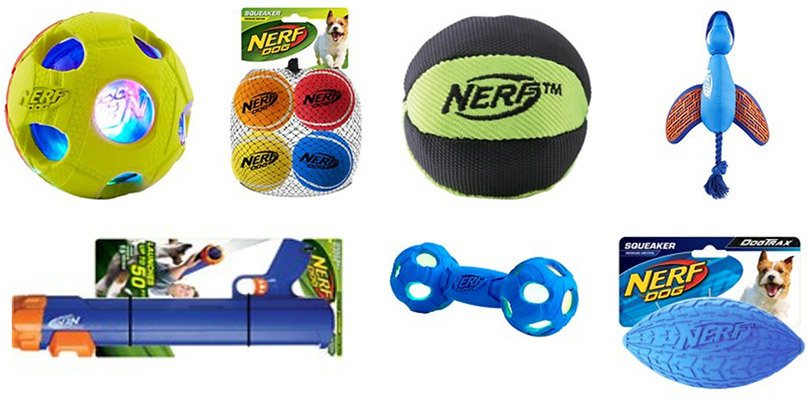 nerf dog toys