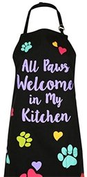 All Paws Welcome In My Kitchen Apron