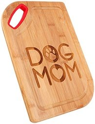dog mom cutting board