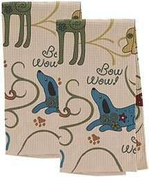 ​​Festival Dogs Kitchen Towels