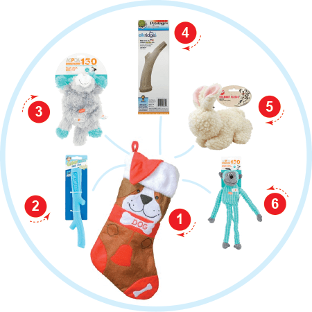The Toy Lover Dog Stocking Stuffers