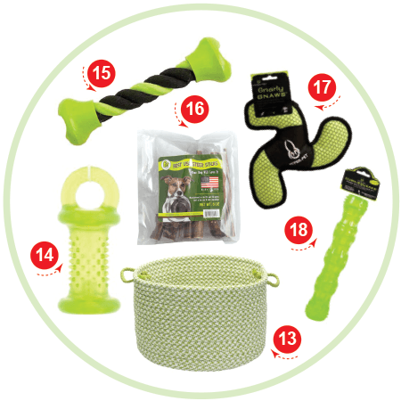 Green with Envy Christmas Stocking Stuffers for your Dog