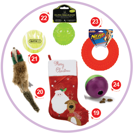 The Ball Lover Christmas Stocking Stuffers for your Dog