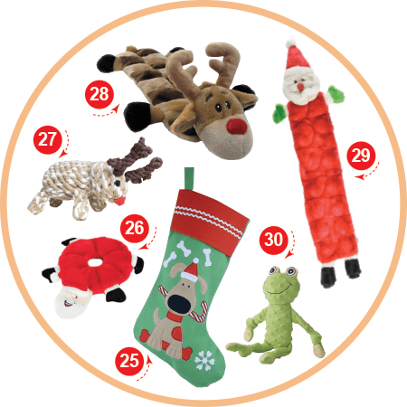 The Plush Toy Lover Christmas Stocking Stuffers for your Dog