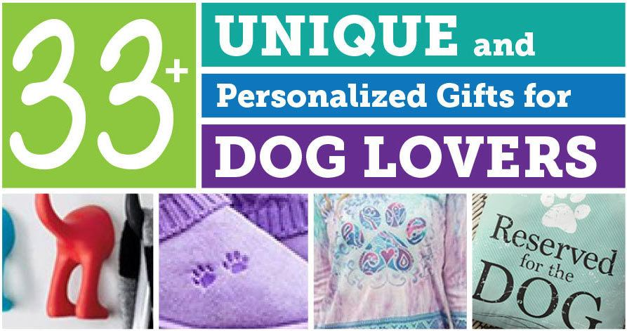 dog personalized unique gift guide