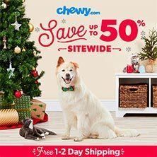 We recommend shopping at Chewy.com