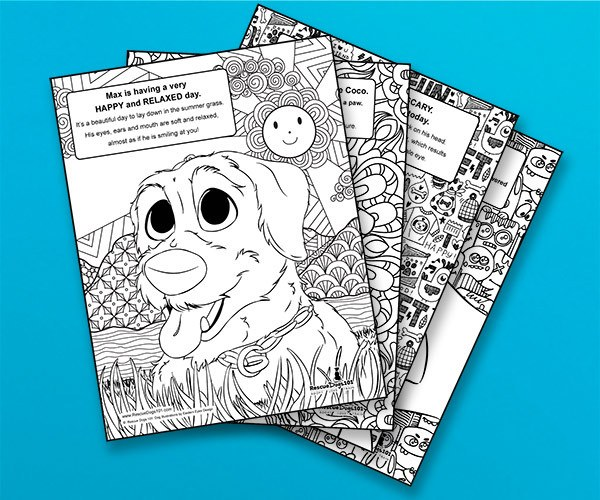 Body Language Coloring Book for Adults and Teens