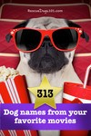 313 dog names from your favorite movies